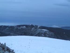 Nihahi ridge in the west