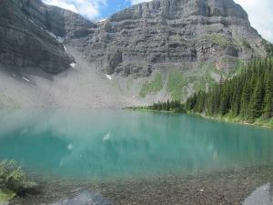 Lake Bourgeau